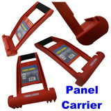 Premium Sheet Panel Carrier Gripper Handle Carry Drywall Plywood ABS 80KG Load