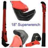 Super Wrench Hawks Beak Adjustable Self Adjusting 18 Inch Spanner 13mm to 60mm