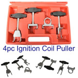 Spark Plug Ignition Coils Puller Tool 4pc Set VW Installing and Removing CAR026