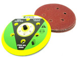 Hook and Loop Sanding Pad 6 Inch Pads and Sanding Discs Paper 10 pack 8099