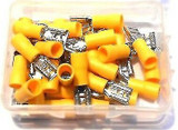 Female Insulated Spade Terminals  60pc Wire Yellow Set Wiring  5.5 to 250  PL323