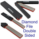 Whetstone Sharpening Folding Double Sided Diamond File 240 400 Grit WW207