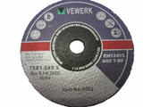 Cutting Disc for Metal Inox 75mm x 1mm x 10mm Vewerk by Bergen  8062