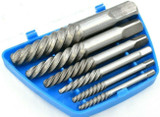 Spiral Flute Screw Extractor Set  Removal Remover Easy Out 6pc 3mm - 25mm SS289