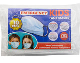 PPE002 Kids Face Mask Pack of 10 Front of pack
