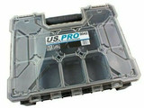 Storage Case Tool Box 12 Removable Compartments Organiser Plastic US PRO 9042