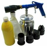 Air SandBlaster Blasting Kit with Grit and 4 Nozzles Sandblasting US PRO 8791