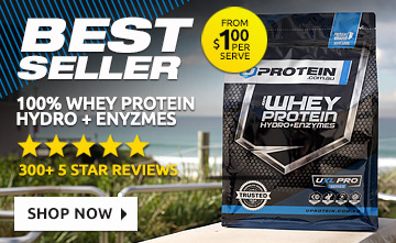 Buy Uprotein 2kg 100% Whey Hydro Protein Powder + Enzymes