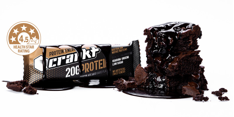 Crankt Choc Mudcake Protein Bar
