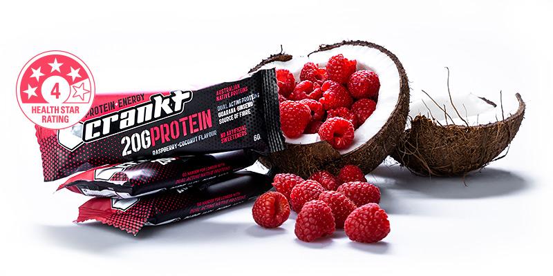 Coconut Raspberry Protein Bar