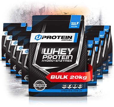 20kgs 100% Whey Protein Powder