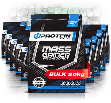 20kg - Bulk Mass Gainer Pro 800MCT