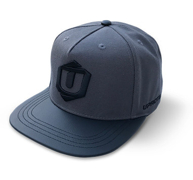 UPROTEIN Snapback Hat Charcoal/Grey