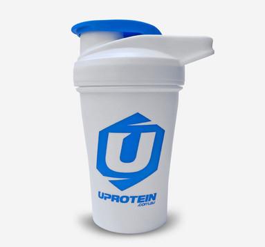 White Protein Shaker 400mL