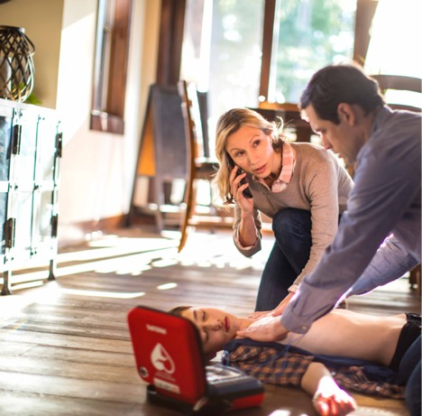 When home defibrillation is needed