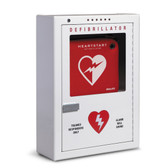 Philips Premium Surface mounted AED Wall cabinet with alarm