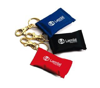 Laerdal Key Ring with Face Shield