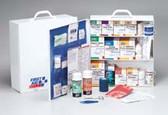 First Aid 3 Shelf Industrial First Aid Station (247-O)
