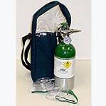 Emergency Oxygen - soft carry bag