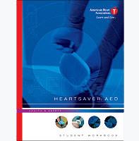 American Heart Association Heartsaver AED book