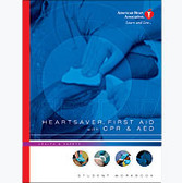 American Heart Association HeartSaver First Aid Book