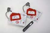 Physio Control CR Plus Replacement Charge-Pak and 2 sets of Electrodes