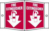 Fire Extinguisher 3 D sign (MFXG37)