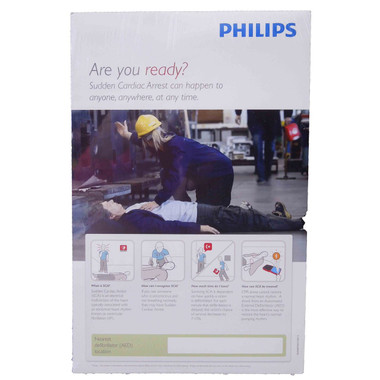 Philips CPR - AED Awareness Poster