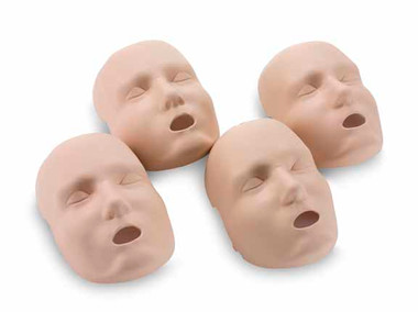 Prestan Adult Manikin Faces Skin Replacements- Medium Skin (RPP-AFACE-4-MS)