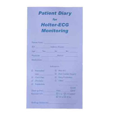 Holter Patient Diary