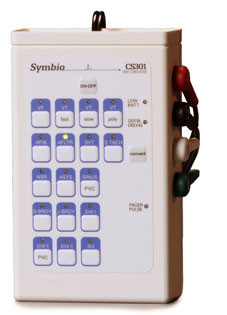 Symbio CS301 EKG Heart Rhythm Simulator Generator