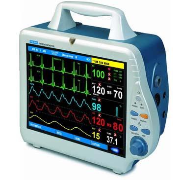 Mindray DPM4 (PM-8000)Patient Monitor w/ Masimo SpO2 (8002FPA00001)