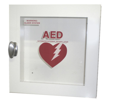 Galvanized Outdoor AED Wall Cabinet with Alarm