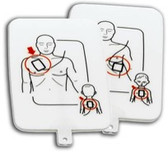 Prestan Pediatric AED Training Pad Set 4-Pack