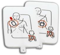 PRESTAN Pediatric AED Training Pad Set 4-Pack