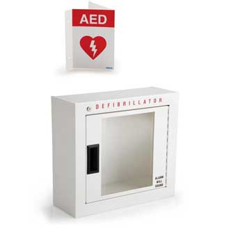 Philips Basic Wall Cabinet with Alarm and Adjustable Wall Sign
