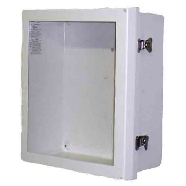 Outdoor Fiberglass AED Cabinet with Alarm