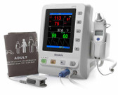 Edan M3 Vital Signs Monitor with SpO2, NIBP and Covidian Oral Temp