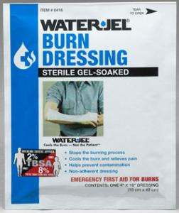 """Water-Jel 4"""" x 16"""" Dressing for Arms, Leg or Feet"""