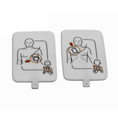 AED UltraTrainer™ Adult/Child Replacement Training Pad Set (2 pads total)