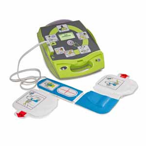 Zoll Fully Automatic AED Plus with Electrodes