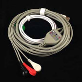 DART 3 Lead ECG Cable