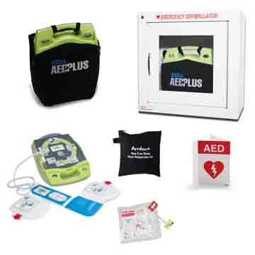 Zoll AED Plus Package for Manufacturing