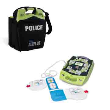 Zoll AED plus package for law enforcement