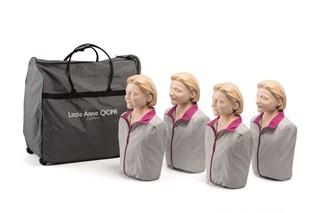 Laerdal Little Anne QCPR Manikin 4-pack light skin
