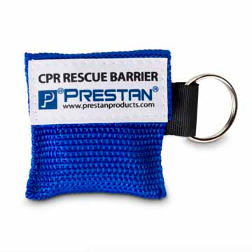 PRESTAN CPR Rescue Barrier Keychain Single or 50 Pack