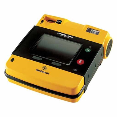 Lifepak 1000 AED with Graphical text display