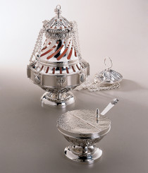 Censer, Boat and Spoon Set 680