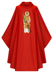 Gothic Chasuble of St Lawrence of Rome, as Worn by Pope Franciscus