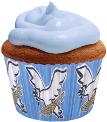 Baptized in Christ (Blue) Cupcake Paper